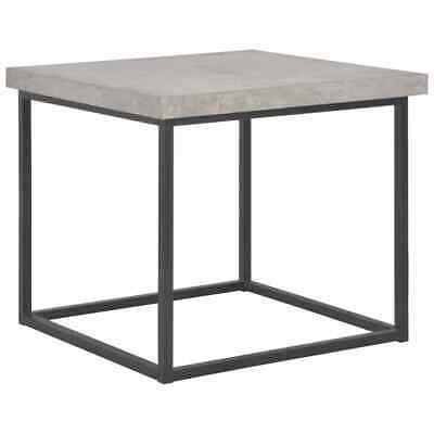 vidaXL Coffee Table 55cm Concrete Look Living Room Side Tea