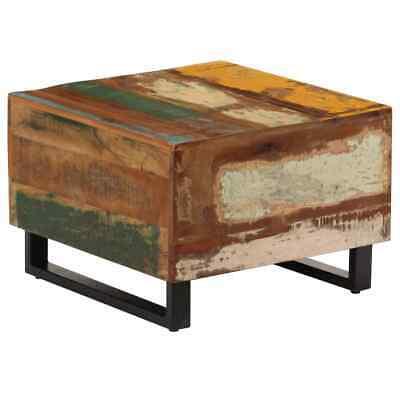 vidaXL Coffee Table Solid Reclaimed Wood Living Room Side