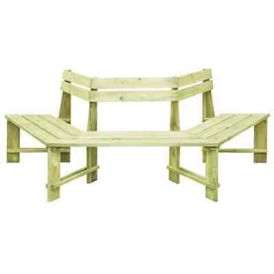 vidaXL Garden Bench 240cm FSC Impregnated Pinewood Outdoor