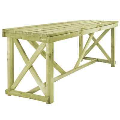 vidaXL Outdoor Dining Table 160x79x75 cm FSC Wood Garden