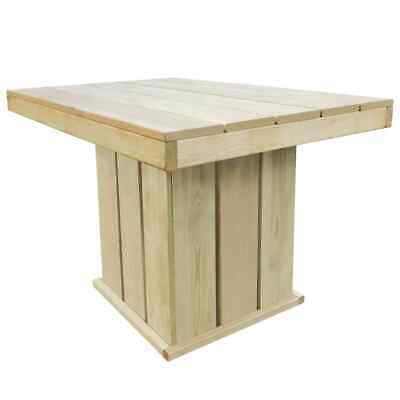 vidaXL Outdoor Dining Table FSC Impregnated Pinewood
