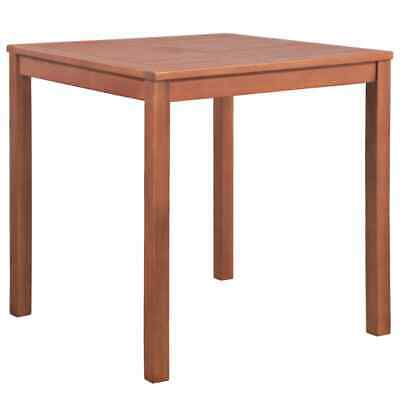vidaXL Outdoor Dining Table Solid Acacia Wood Square