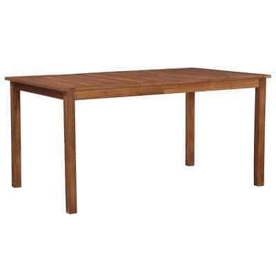 vidaXL Solid Acacia Wood Outdoor Dining Table 150x90x74cm
