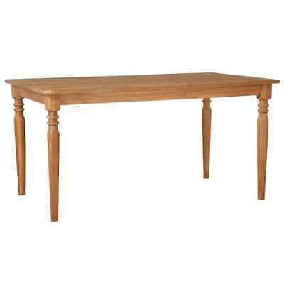vidaXL Solid Acacia Wood Outdoor Dining Table 150x90x75cm