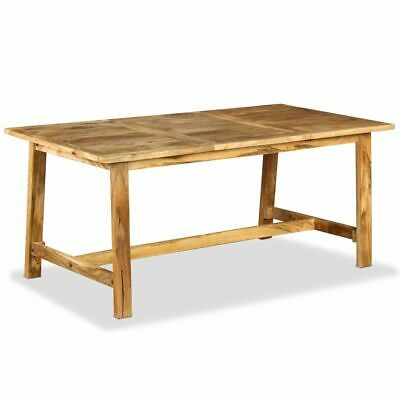 vidaXL Solid Mango Wood Dining Table 180 cm Home Kitchen