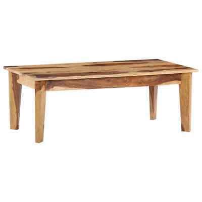 vidaXL Solid Sheesham Wood Coffee Table Side Hall Couch