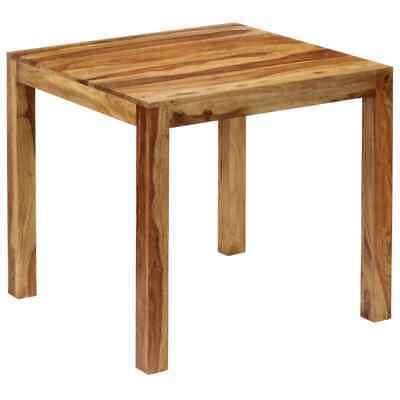 vidaXL Solid Sheesham Wood Dining Table 82x80x76cm Home