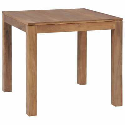 vidaXL Solid Teak Wood with Natural Finish Dining Table