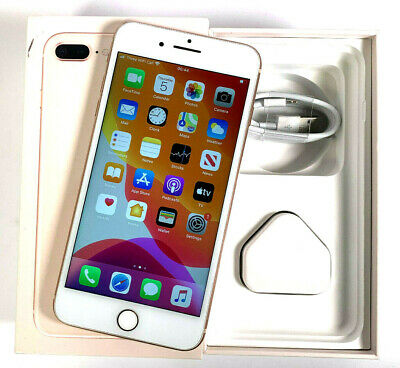 Apple iPhone 8 Plus 256GB Gold Unlocked Sim Free A GOOD