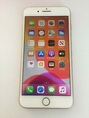 FAULTY Apple iPhone 8 Plus AGB gold unlocked, READ