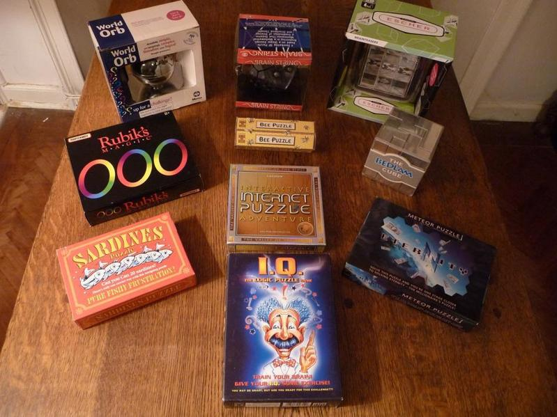 Puzzle and game selection