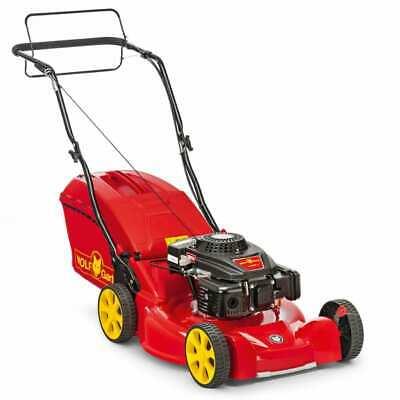 WOLF-Garten Petrol Lawn Mower Grass Raker Cutter Removal A