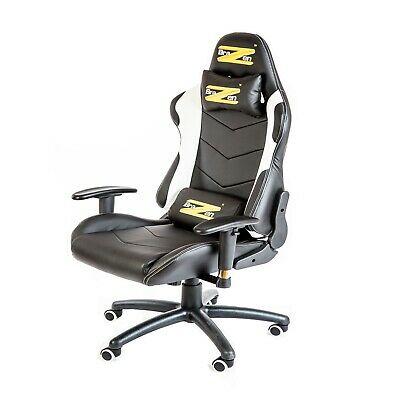 Brazen Shadow Professional PC Racing Gaming Chair - Black /