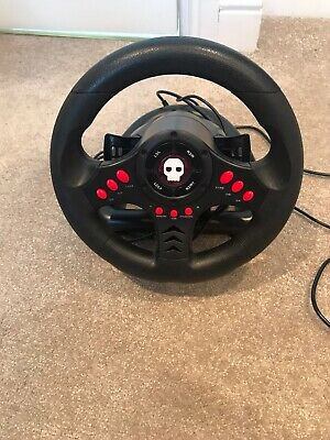 Gameware Steering wheel and pedals for XBOX One PS3 PS4 and