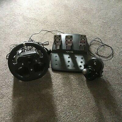 Logitech G920 UK Plug Driving Force Racing Wheel for Xbox