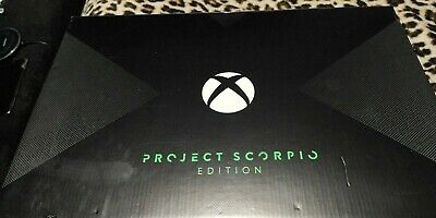 Microsoft Xbox One X Project Scorpio Edition 1TB Black
