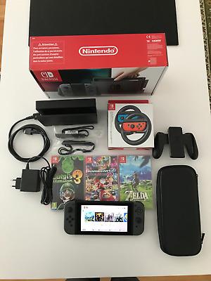 Nintendo Switch 32GB + Mario Kart 8 + Luigi´s mansions 3 +