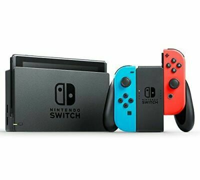 Nintendo Switch Neon Blue and Red Joy‑con