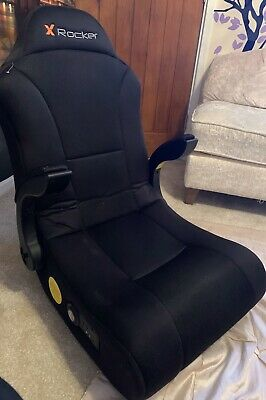 X Rocker Rocking Gaming Chair black