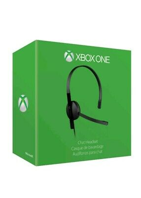 XBOX ONE CHAT HEADSET. Boxed with paperwork.