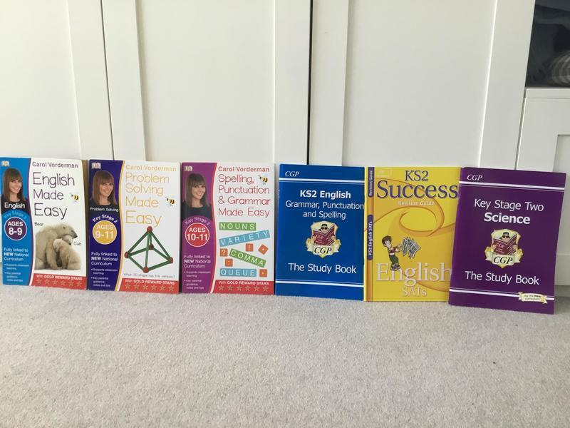 Key Stage 2 Workbooks - £1 each or £5 for all