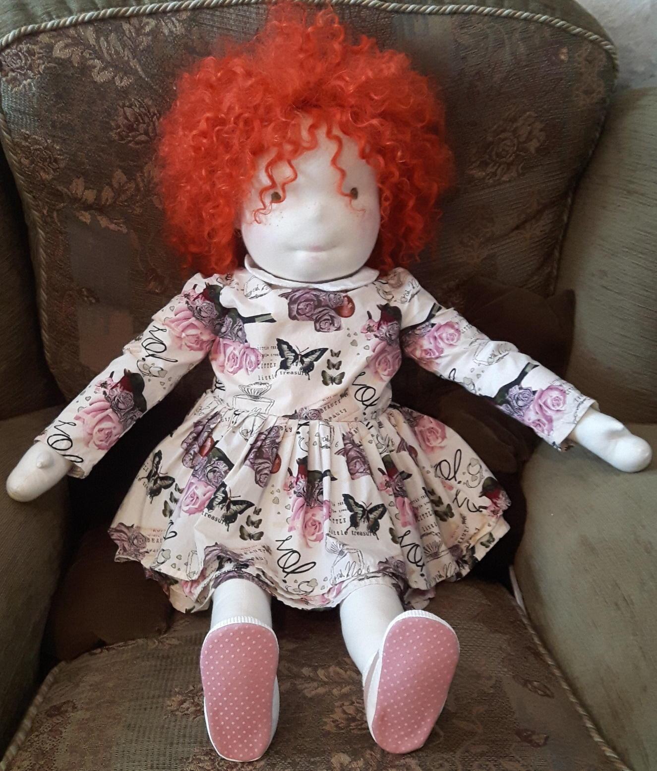 "BIG 32"" ART DOLL a baby GIRL ooak for sale handmade"
