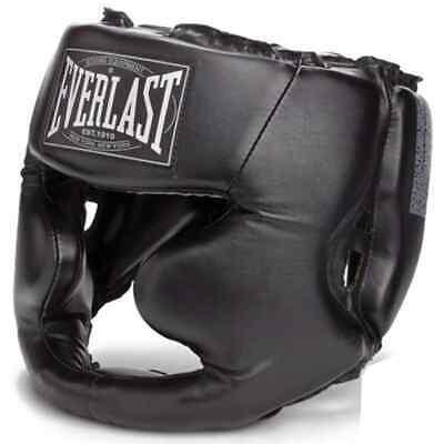 EVERLAST Head Guard Full Protection Black L/XL Boxing Gear