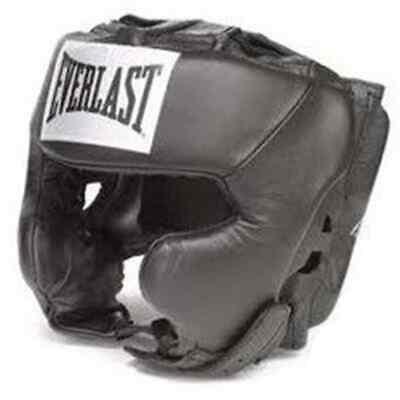 EVERLAST Head Guard Pro Traditional Black L/XL Boxing Gear