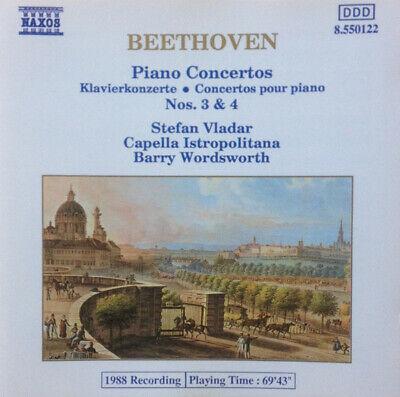 LUDWIG VAN BEETHOVEN Piano Concertos Nos. 3 & 4 CD 6 Track