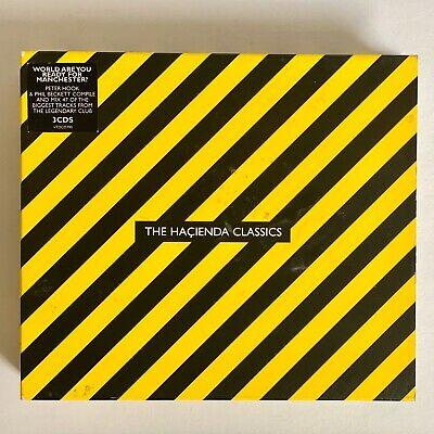 Various Artists: Hacienda Classics CD 3 discs ()