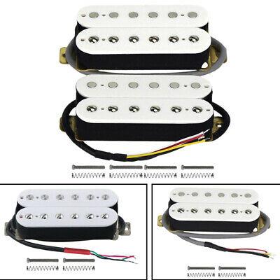 Electric Guitar Humbucker Pickups Alnico V Pickup White C4V3