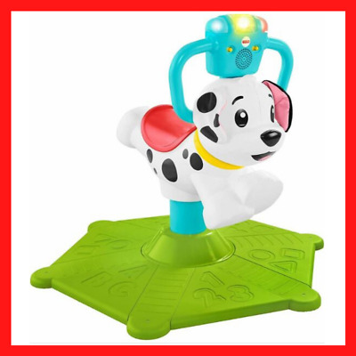 Fisher-Price GHY03 Bounce & Spin Puppy Stationary Musical