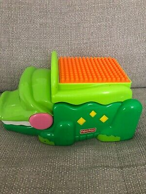 Fisher Price Peek A Blocks Stack And Smile Crocodile