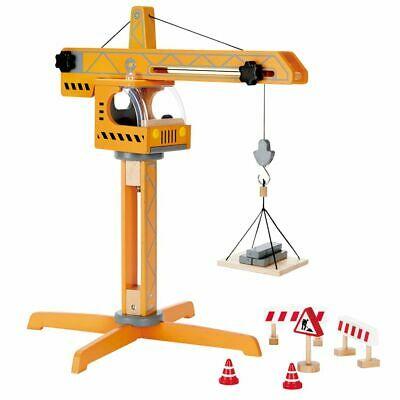 Hape Crane Lift E Toddler Children Age 3+ Years Wooden