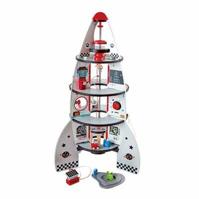 Hape Four-Stage Rocket Ship Kids Children Baby Wooden