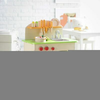 Hape Gourmet Kitchen Green E Wood Child Toddler Kid 3+