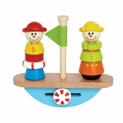 Hape Wooden Balance Boat Toddler Baby Kids Children Early