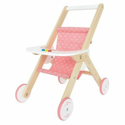 Hape Wooden Doll Stroller Buggy Role Play Toddler Child Age