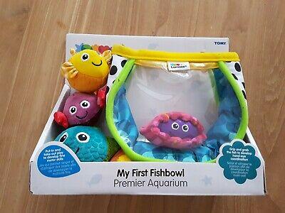 Lamaze My First Fish Bowl Baby Development Toy Tomy Hand Eye