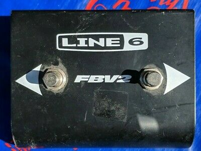 Line 6 FBV2 Footswitch 2-button Controller