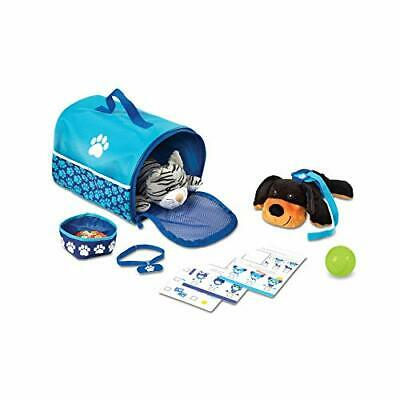 Melissa & Doug Tote & Tour Pet Travel Play Set 2 Plush