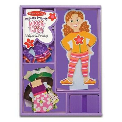Melissa and Doug - Maggie Leigh Magnetic Wooden Dress-Up