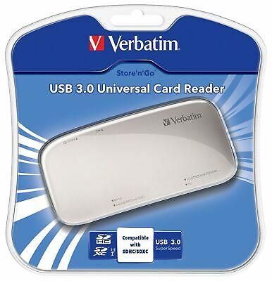 New Verbatim Usb 3.0 Universal Memory Card Reader