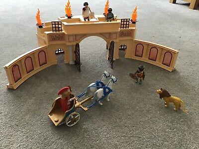 Playmobil  History Roman Arena with gladiators, chariot