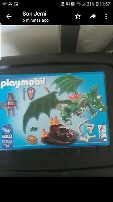 Playmobil Knights  Great Dragon COMPLETE with Box And