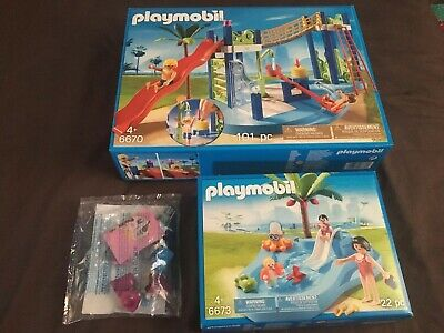 Playmobil  Summer Fun Water Park Swimming Pool