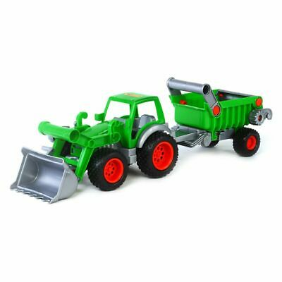 Polesie Tractor with Front Loader and Trailer Boys