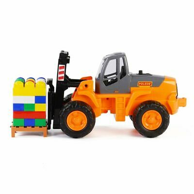 Polesie Wader Fork Lift Construction Block Set Play Toy