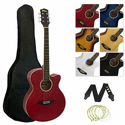 Tiger ACG3 Full Size Acoustic Beginners Guitar Package with