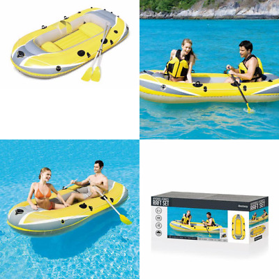 Bestway 100 x 50-inch Hydro-Force Raft Set With 2 Oars And